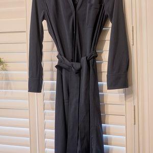 J. Crew Dresses - J Crew Long-sleeve belted shirt dress